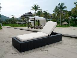 Amazon Patio Lounge Cushions by Amazon Com Ohana 2 Piece Outdoor Wicker Patio Furniture Chaise