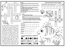 Kids Restaurant Activity Sheet