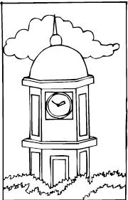 Tower Coloring Pages 9