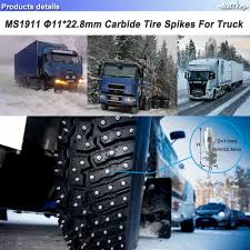 Marrkey 100PCS 11*22.8mm Tire Studs For Heavy Equipment Trucks ... Spiked Covers On Dodge Diesel Truck Resource Forums Kevin Tetz Spike Reveal Miles Beyond 300 2012 Ford F250 Lariat 4wd Transndence Photo Image Gallery Pin By Micah Wahlquist On Powerstroke Pinterest Trucks Rhode Island Center East Providence Ri The Premier A Spike Tipped Truck Wheel At A Custom Car Show Stock New England Hot Dog Mobile Spikes Junkyard Dogs Economy Mfg Poulsbo Fire Damaged Trap Kitsap Daily News