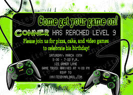 Video Game Party Superb Video Game Party Invitations - Birthday And ... Video Game Party Invitations Gangcraftnet Invitation On K1069 The Polka Dot Press Monster Truck Birthday Ideas All Wording For Save Gamers Fun Birthdays Planning A 13yr Old Boys Todays Pitfire Pizza Make One Amazing Discount Unique Dump Festooning And Printable Orderecigsjuiceinfo Star Wars Signs New Designs Invitations Fancy Football