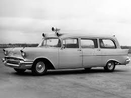 100 1957 Chevy Panel Truck Ambulance Cadillac Classic Cars Ambulance