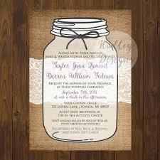 Wedding InvitationsCool Mason Jar Invitations For Her Ideas And Planning