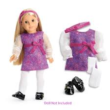 Amazoncom American Girl Beforever Julie Julies Holiday Outfit