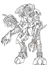 Lego Bionicle Coloring Pages For Boys 11