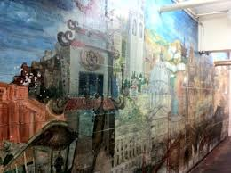 Harlem Hospital Glass Mural by 18 Coit Tower Mural City Life Mikes Epic Road Trips