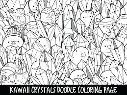Kawaii Animal Coloring Pages