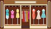 Clothing Store Clip Art