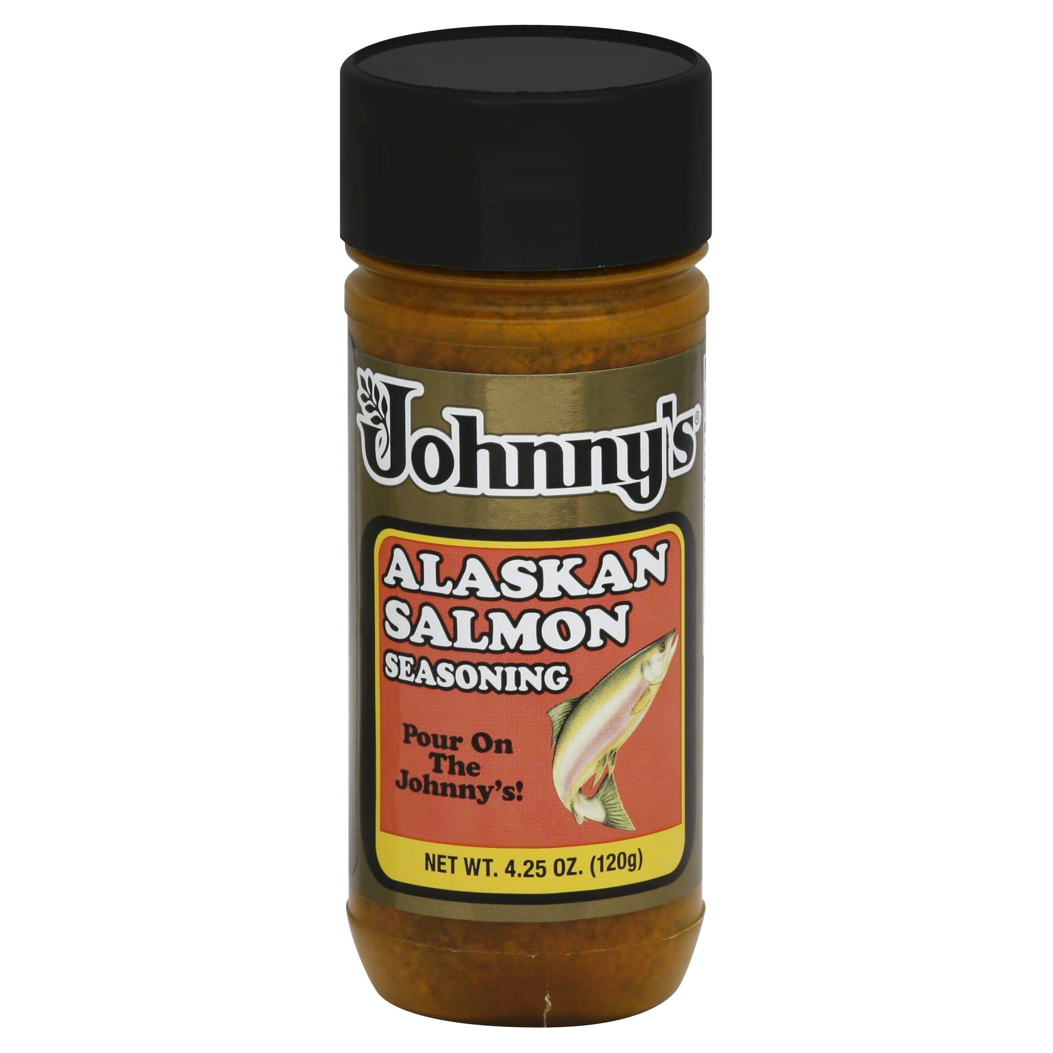 Johnnys Seasoning, Alaskan Salmon - 4.25 oz