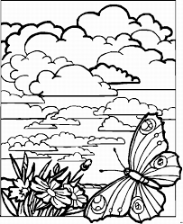 Coloring Pages Landscapes