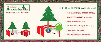 Xmas Tree Waterer by The Tree Box L The Decorative Christmas Tree Stand Cover