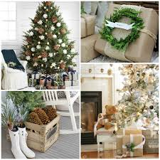 Neutral Rustic Christmas Style Decor Ideas
