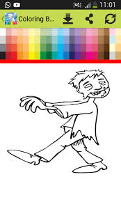 Coloring Book For Plants Vs Zombie Screenshot
