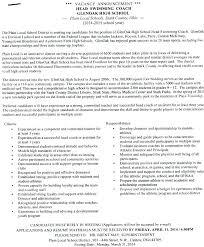 Lifeguard Sample Resume Description Medium Ocean Cv Example