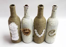 Decorative Wine Bottles Crafts by 138 Best Wine Bottle Centerpieces Images On Pinterest Wine