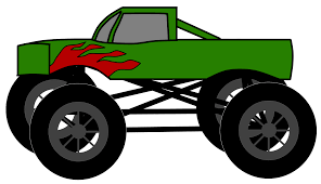 Fire Truck Clipart Monster Truck - Pencil And In Color Fire Truck ...