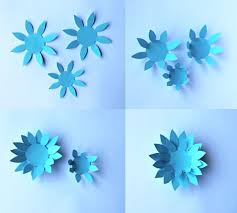 Flower Paper Craft For Kids