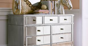 Pier 1 Mirrored Dresser by Bedroom Alluring Hayworth Mirrored Dresser Silver Pier 1