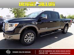 100 Nissan Titan Diesel Truck New 2018 XD Platinum Reserve Crew Cab Pickup In Boise