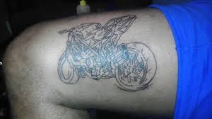 Street Bike On My Leg