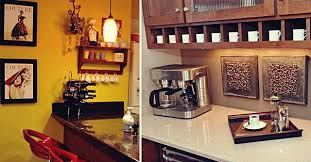 Cafe Shop Coffee Themed Kitchen Decor Interior Design Tips