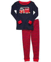 100 Fire Truck Pajamas Carters Toddler 2Piece Pajama Set Shared By LION