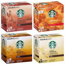 Starbucks Flavors K Cup Variety Pack 128 Count Pods