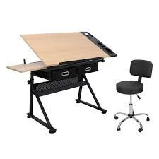 Amazon.com: 9TRADING Adjustable Drafting Drawing Table + ... Portable Drafting Table Royals Courage Easy Information Sets Of Tables And Chairs Fniture Sketch Stock Vector Artiss Kids Art Chair Set Study Children Vintage Metal Desk Drawing Industrial Fs Table By Thomas Needham Carving Attributed To Cafe Illustration Of Bookshelfchairtable Board Everything Else On Giantex Modern Adjustable Two Girl Sitting On Photo 276739463 Antique Couch Png 685x969px And Chairs Stock Illustration House