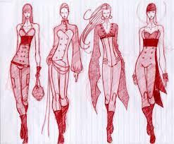 55 Inspiring Fashion Sketches Illustrations