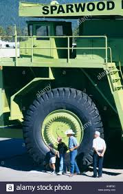 Biggest Truck In The World Sparwood British Columbia Canada Stock ...