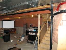 Affordable Basement Ceiling Ideas by Unfinished Basement Ceiling Ideas Amazing Best Ideas About
