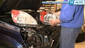 how to install replace headlight and bulb honda cr v 02 04 1aauto