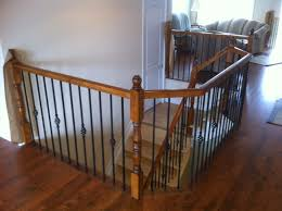 Wood Rail, With Detail Metal Spindles | For The Home | Pinterest ... Best 25 Spindles For Stairs Ideas On Pinterest Iron Stair Remodelaholic Diy Stair Banister Makeover Using Gel Stain 9 Best Stairs Images Makeover Redo And How To Paint An Oak Newel Like Sanding Repating Balusters Httpwwwkelseyquan Chic A Shoestring Decorating Railings Ideas Collection My Humongous Diy Fail Your Renovations Refishing Staing Staircase Traditional Stop Chamfered Style Pine 1 Howtos Two Points Honesty Refishing Oak Railings