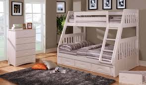 Bedroom King Bedroom Sets Bunk Beds For Girls Bunk Beds For Boy by Discovery World Furniture Twin Over Full White Mission Bunk Bed