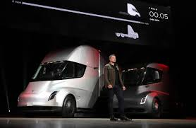 100 Semi Truck Pictures Teslas Electric Gets Orders From WalMart And JB Hunt