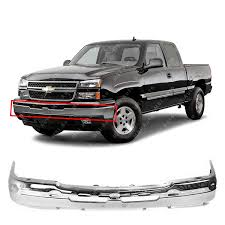 100 Truck Front Bumpers Amazoncom MBI AUTO Chrome Steel Bumper Face Bar For 2003