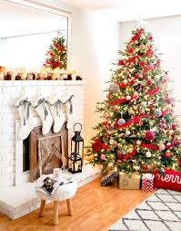 Classic Reds And Rustic Plaids Christmas Home Tour 2015