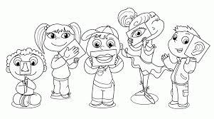 Five Senses Worksheets Kids Kindergarten Coloring