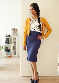 Highwaisted Vintage Style Office Outfit