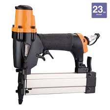 Freeman Flooring Nailer Nails by Freeman Pneumatic 23 Gauge 1 3 8 In Micro Pinner With Carry Case