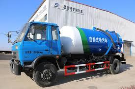 100 Septic Truck Blue Tank Pump Tujuan Khusus Kendaraan Dengan