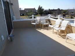 Image Of Balcony Flooring Waterproof