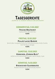 hotel restaurant zur alten post posts nümbrecht menu