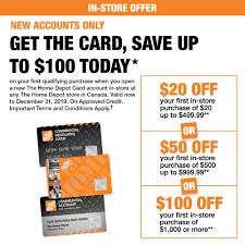 Credit Services | The Home Depot Canada Ebay Coupon 2018 10 Off Deals On Sams Club Membership Lowes Coupons 20 How Many Deals Have Been Made Credit Services The Home Depot Canada Homedepot Get When You Spend 50 Or More Menards Code Book Of Rmon Tide Simply Clean And Fresh 138 Oz For Just 297 From Free Store Pickup Dewalt Futurebazaar Codes July Printable Office Coupons Diwasher Home Depot Drugstore Tool Box Coupon Oh Baby Fitness Code 2019 Decor Penny Shopping Guide Clearance Items Marked To