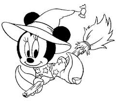 Free Images Coloring Disney Printable Pages Halloween New At Chuckbutt