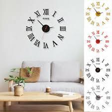 kunst wanduhr lautlos luxus oberfläche raum dekor wohnzimmer