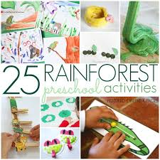 Rainforest Activities For Preschool