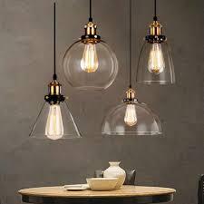 vintage glas anhänger licht esszimmer hangl e27 industrielle anhänger len beleuchtung küche leuchte leuchte nordic le