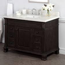 Single Sink Vanity With Makeup Table by Vanities Costco
