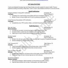 Sample Resume For Nursing Home Volunteers Fresh Volunteer